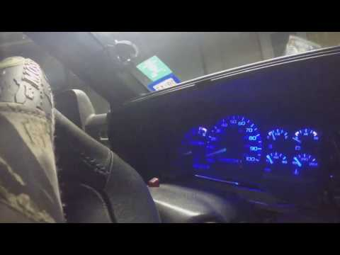 Blue LED Gauge Cluster Lights In Chevy