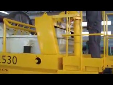 Operation Video of Dewatering Screen-Shanghai Lipu