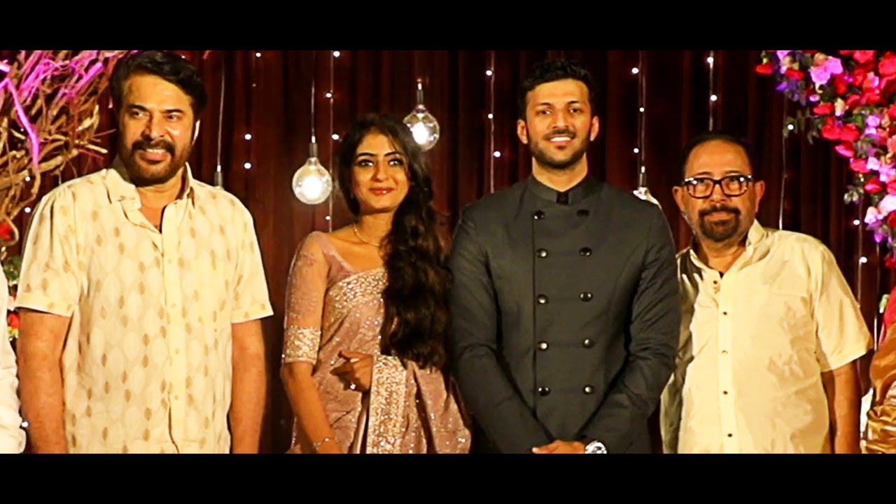 Director Sibi Malayil's Daughter Engagement Video   Mammootty    Kadhal sandhya