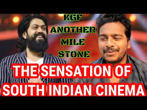 RockingStar Yash Won The Sensation Of South Indian Cinema Award-Behindwoods Gold Medals #KgfChapter1
