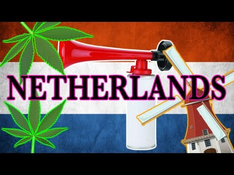 Netherlands (AIR Horn remix) - - EPILEPSY WARNING!!