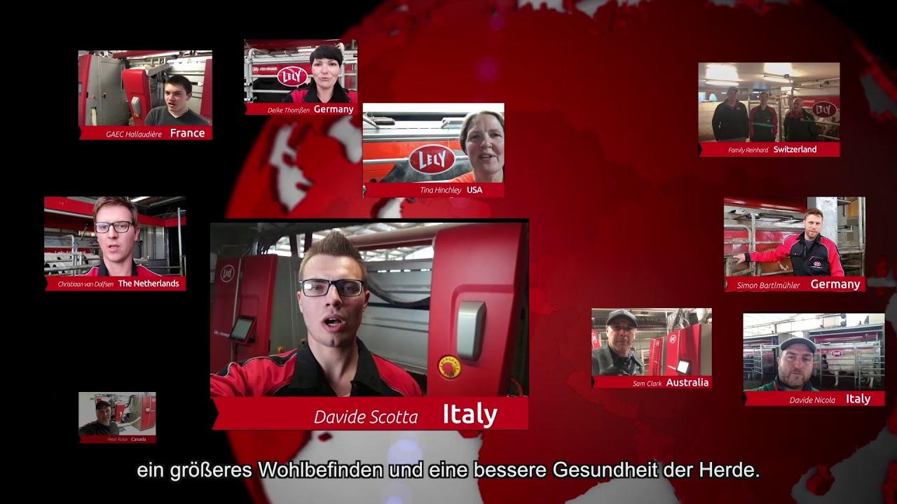 Lely Astronaut A5 – Ein Jahr Erfahrungen – video 1 (DE)