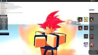 Vegeta VS Goku /Dragon Ball RP/Roblox/