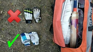 How To Choose Perfect Batting Gloves For You !! Cricket kit Review Series Part-2