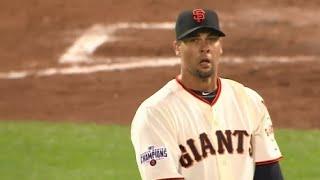 Бейсбол. MLB: Сан Франциско Джайнтс - Вашингтон Нэшнлз (13.08.2015)