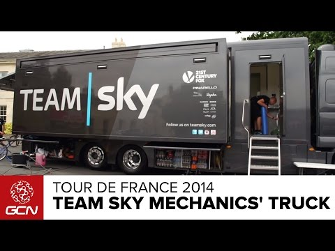 Team Sky Mechanics' Truck Tour | Tour De France 2014