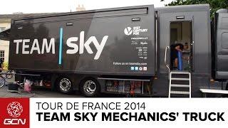 Team Sky Mechanics' Truck Tour | Tour De France 2014