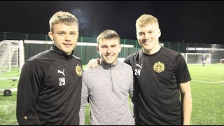 Feature |  Academy trio handed first-team training opportunity