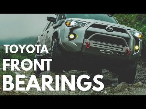 Toyota Front Wheel Bearing Replacement How-To