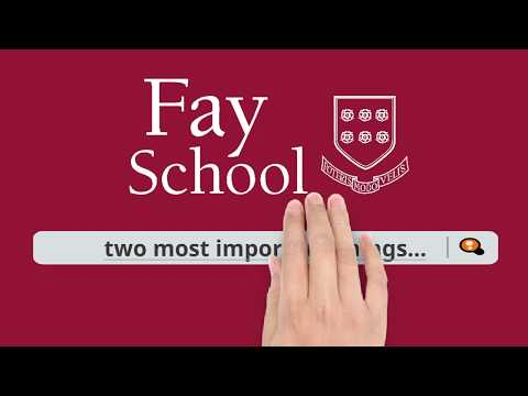 Financial Aid at Fay School - What You Need to Know