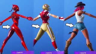 "FORTNITE THICCMAS ""CRACKDOWN"" DANCE EMOTE IS SO HOT😍❤️ SEASON 7"