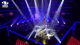 Luna cantó 'La habanera' de G. Bizet y L. Halévy - LVK Colombia- Audiciones a ciegas - T1