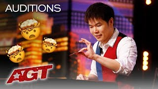 OMG Eric Chien Could Be The Best Magician On The  Nternet And AGT   Americas Got Talent 2019