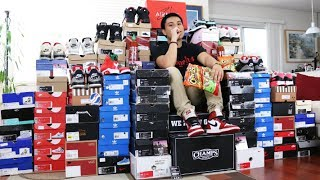 HOW TO START A SNEAKER COLLECTION!!! (TOP TEN TIPS)