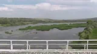 Железнодорожный мост через реку Сок