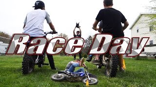 BACKYARD PIT BIKE RACING AND FIRST TIMER BAILS