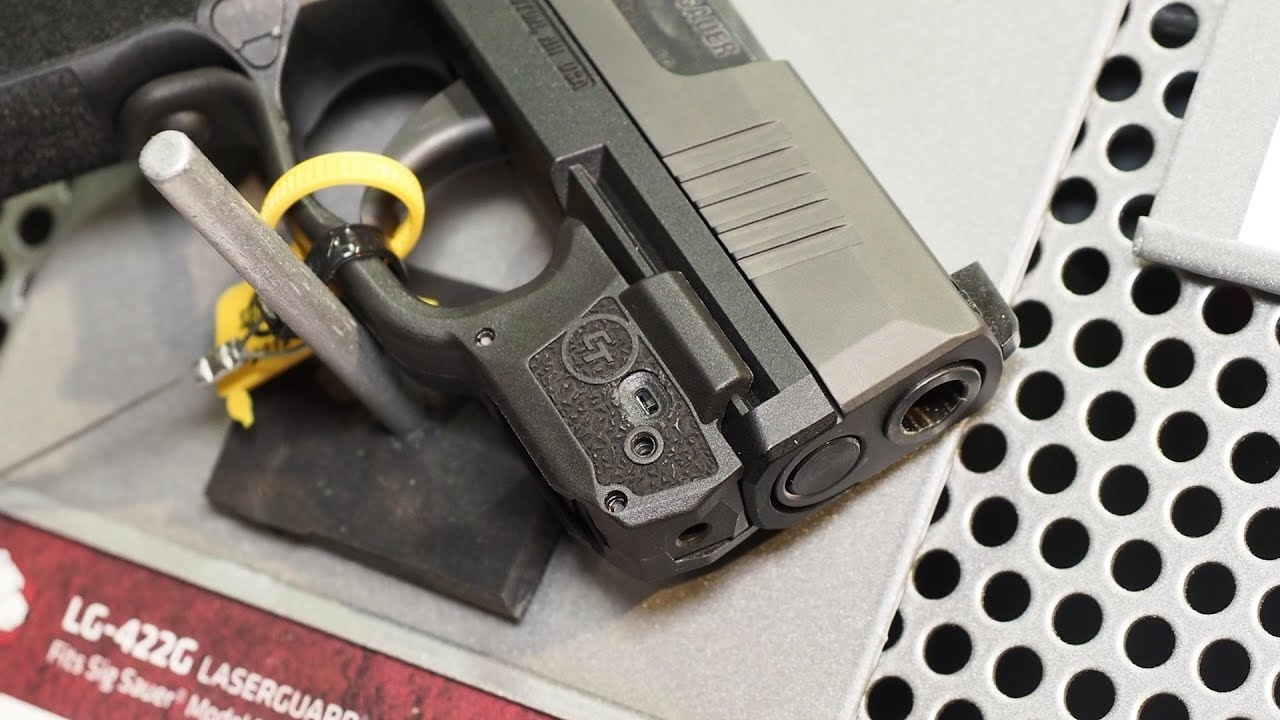 Crimson Trace New P365 Laser and Light for SHOT Show 2019