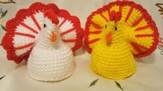 Пасхальная курочка Easter chicken Crochet