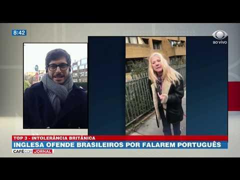 Inglesa ofende brasileiros