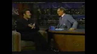 George Michael - on David Letterman