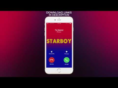 The Weeknd Starboy Ringtone
