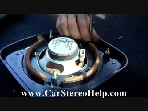 Honda Accord Rear Speaker Removal And Replacement