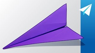 FLIES OVER 100 FEET! — Amazing Dart Paper Airplane | How to Make Stingray, Designed by Origamics