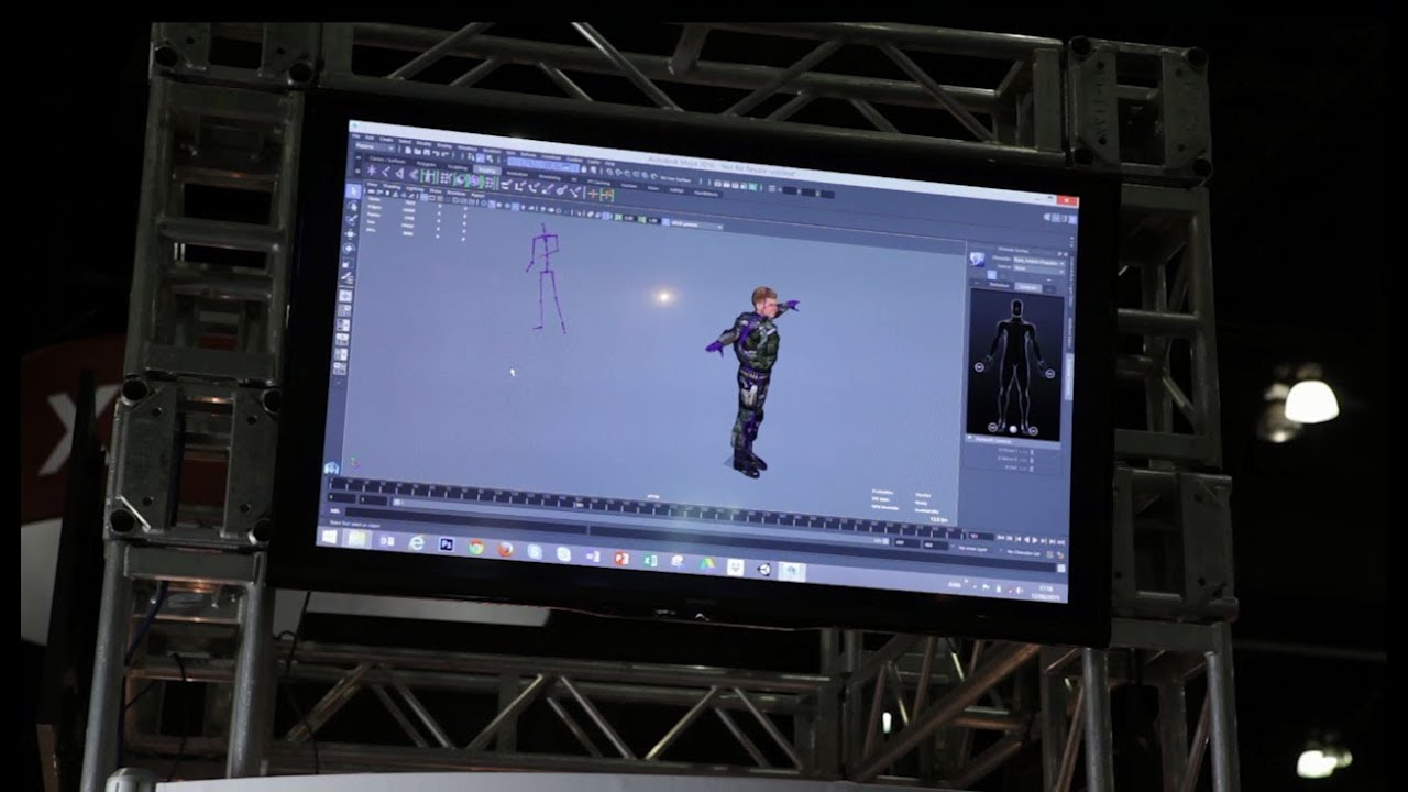 Using Xsens motion capture in Maya and 3ds Max - YouTube