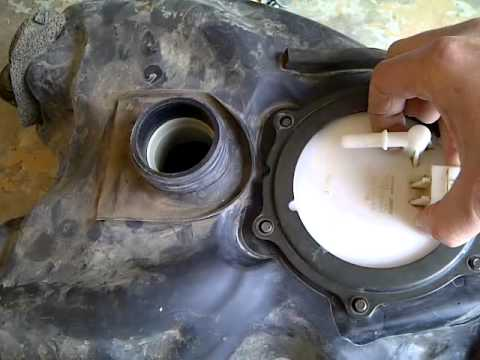 2006 Yamaha Raptor Fuel Tank Removal Part 2 Youtube