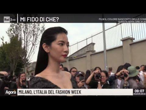 Milano, l'Italia della fashion week - Agorà 20/09/2019