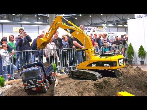 XXXL RC TRUCKS, RC DOZER, RC MACHINES, BIG SIZE RC EXCAVATOR, WHEEL LOADER, TRACTORS!!