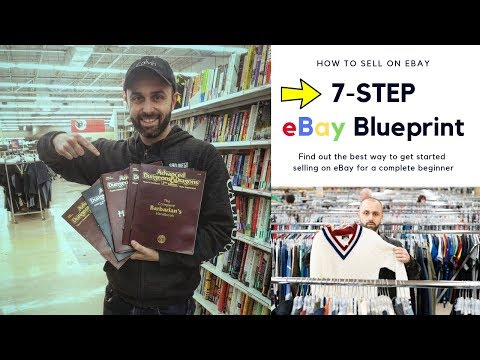The 7 Step Blueprint To Getting Started Selling On Ebay Youtube