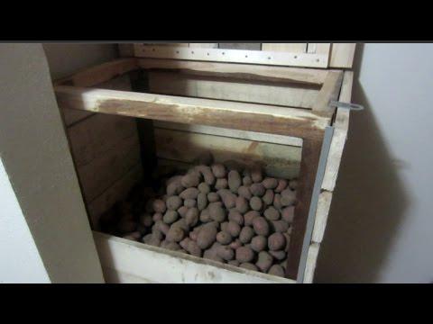 Ларь для хранения картофеля своими руками фото