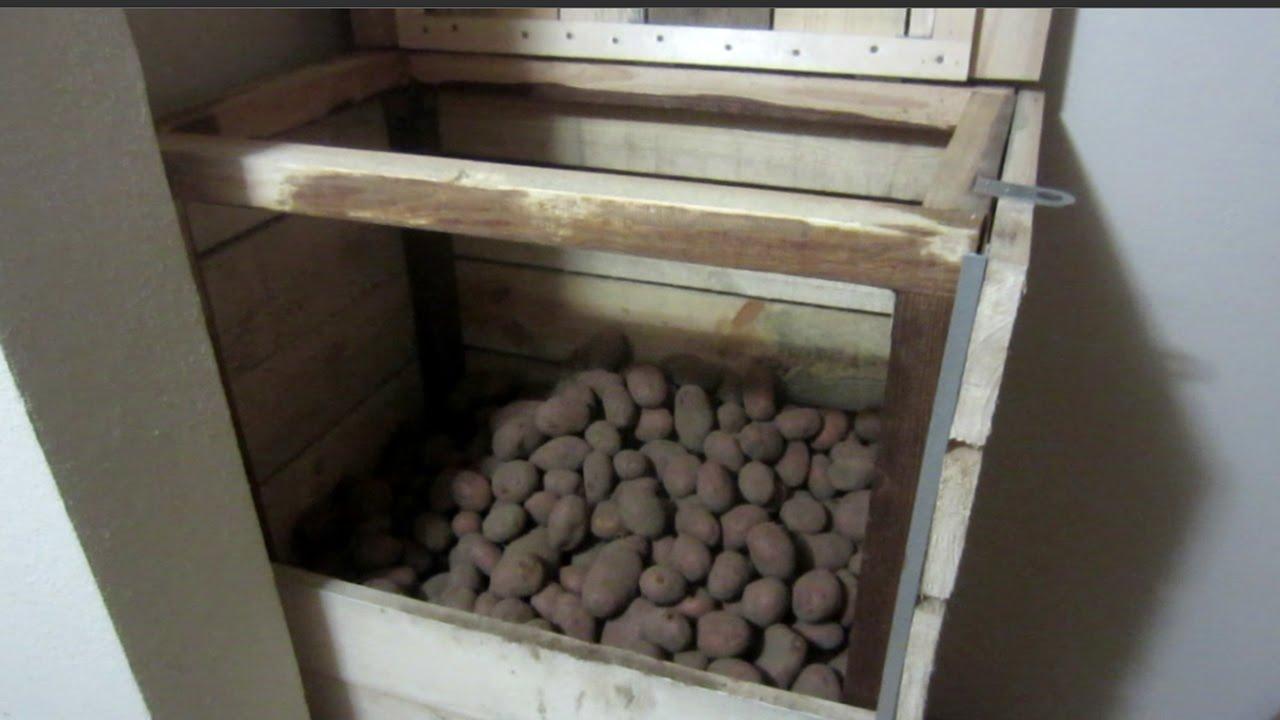 Ящик для хранения овощей на балконе - YouTube