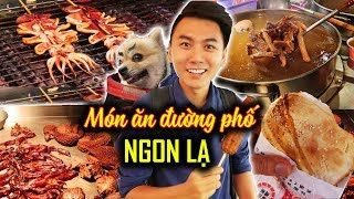 Ăn sập Đài Loan #6: LEVEL 9999 Street Food in Raohe night market| Taiwan Travel Guide
