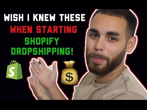 What I Wish I Knew When Starting Shopify (Beginners MUST Watch) thumbnail