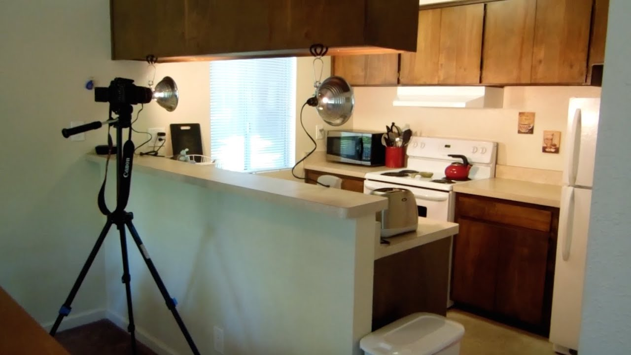 Kitchen Setup My Youtube Setup Behind The Scenes Lighting Camera And Angles