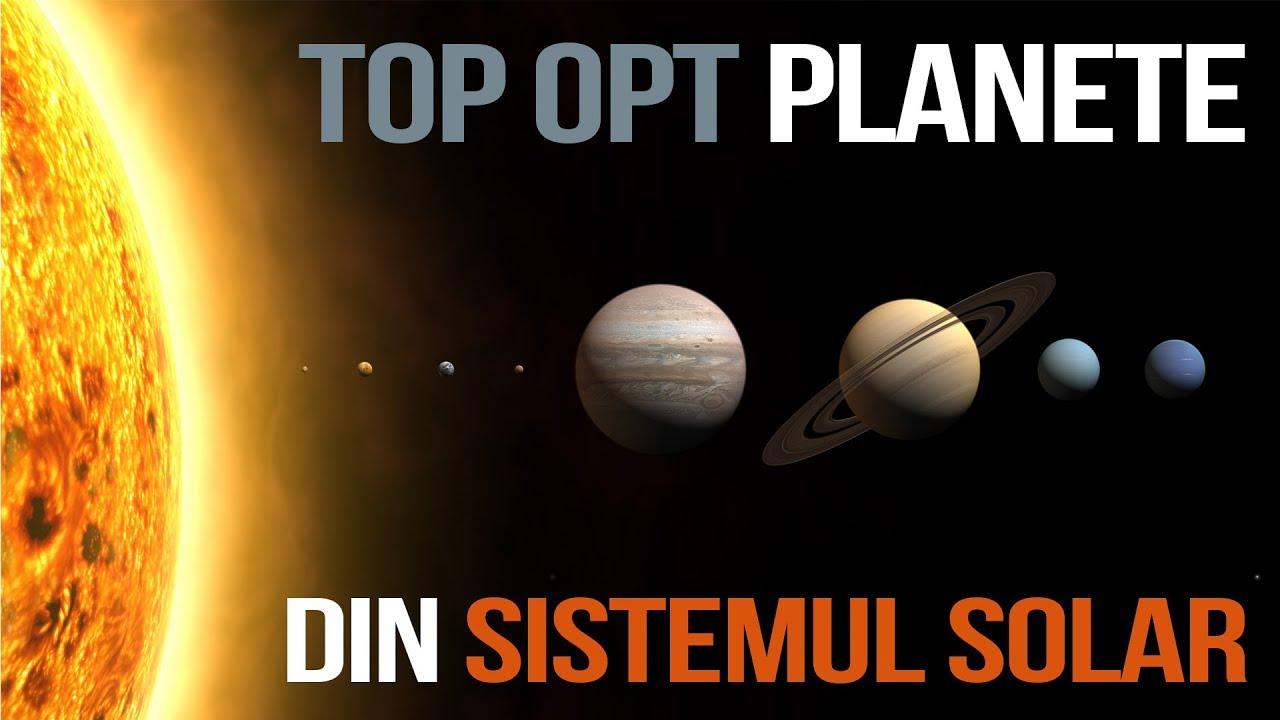TOP OPT Planete din Sistemul solar