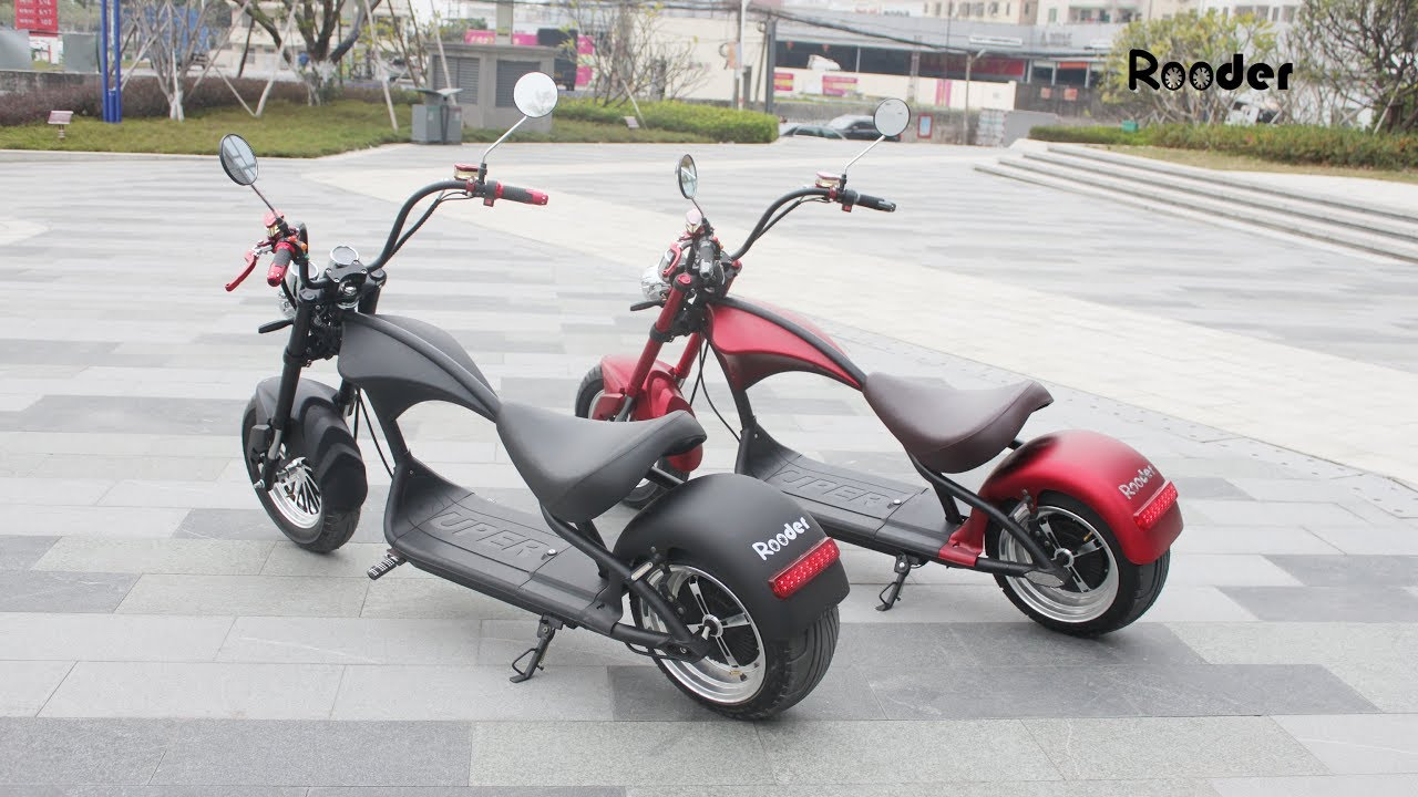 5 Best Rooder Harley Citycoco Electric Scooter To Buy 2019