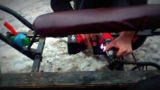 видео: детский электромобиль из шуруповерта Милуоки