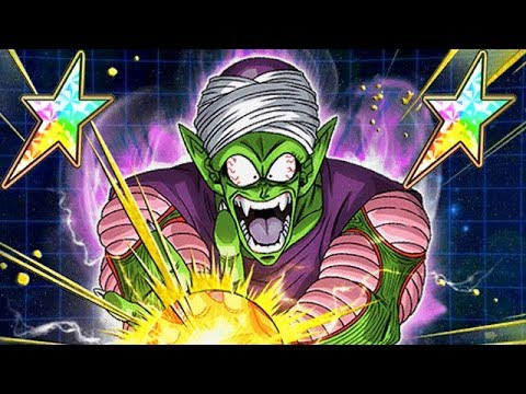 THE DEMON RETURNS! 100% RAINBOW STAR STR PICCOLO JR. SHOWCASE! (DBZ: Dokkan Battle)