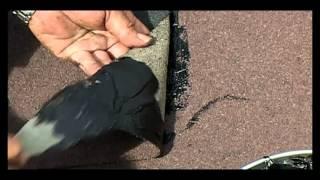 видео Инструкция по монтажу гибкой черепицы своими руками