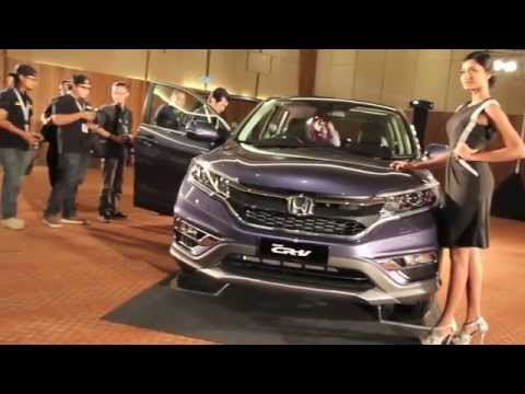 2015 Honda CR-V Facelift Launched in Malaysia