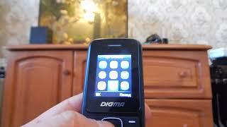 мобильный телефон Digma Linx A170. Распаковка и обзор телефона для школьника