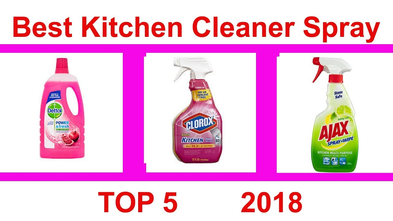 Best Kitchen Cleaner Glass Backsplash For Top 5 Spray Youtube