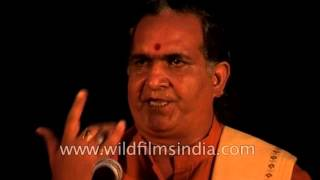 Vachaspati Upadhyaya's Group Sings Vedic Chant
