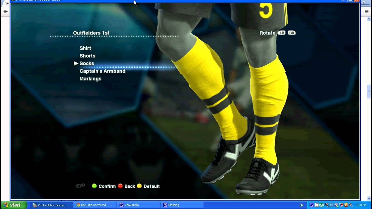 How To Make Dortmund In PES 2013