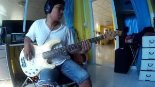 ปิดตาข้างนึง-ทรงไทย  Bass cover by note