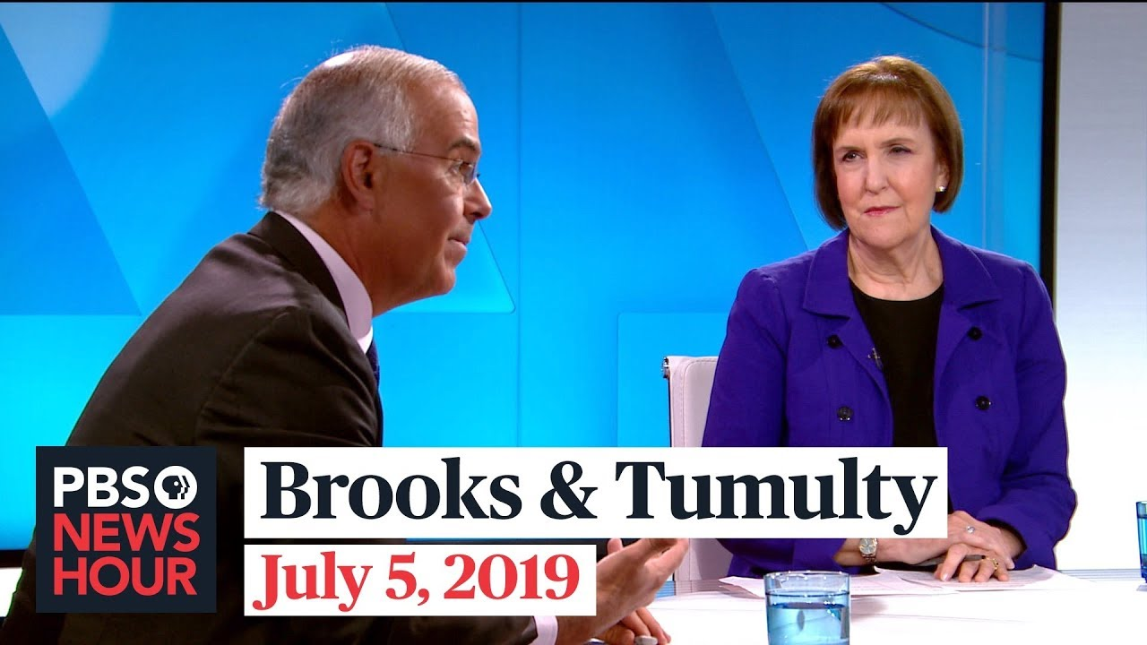 David Brooks and Karen Tumulty on Trump's July 4 event, 2020 Democrats