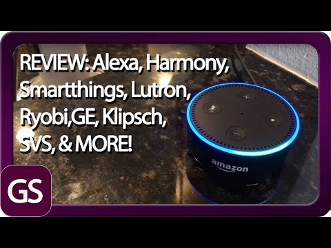 Review Of Echo, Lutron Caseta Dimmers, Google WiFi, Harmony Ultimate, GE Appliances